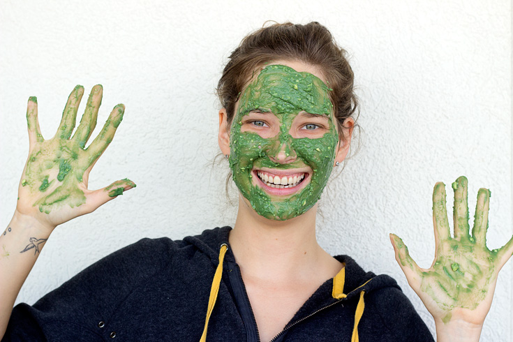 Avocado Honey Spirulina Face Mask