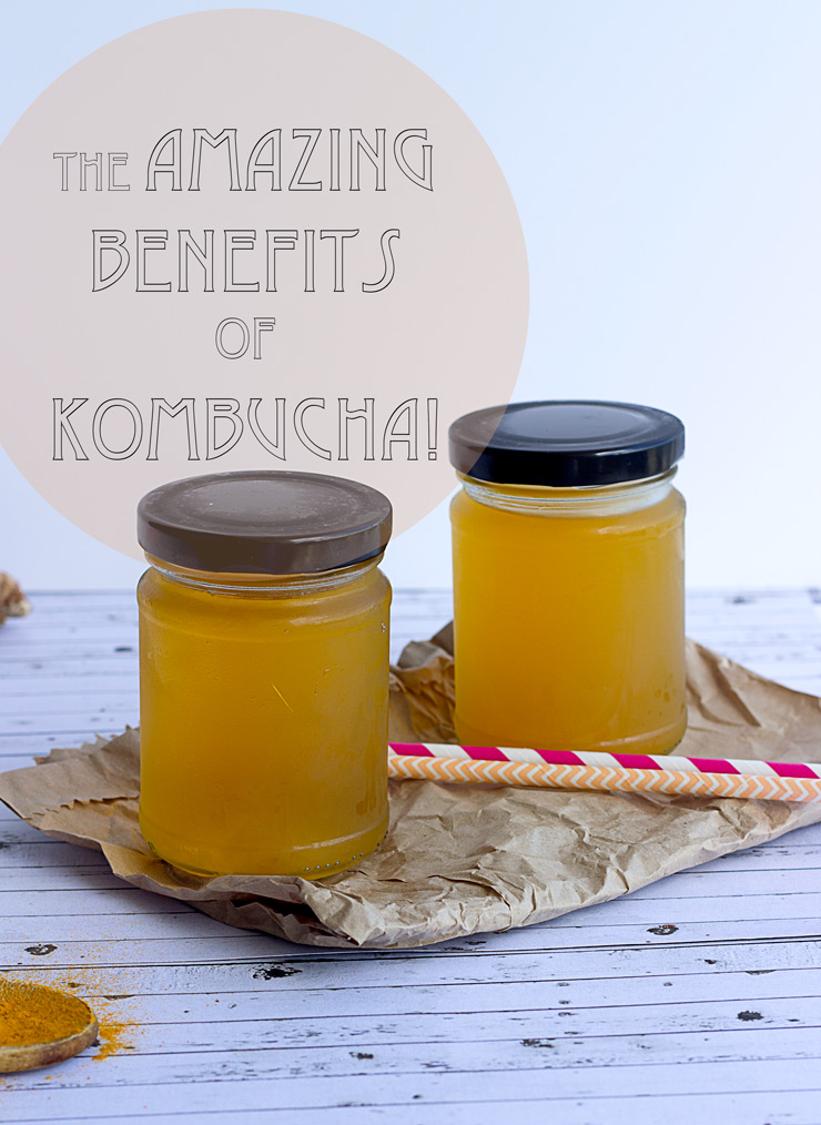 The Amazing Benefits of Kombucha Tea