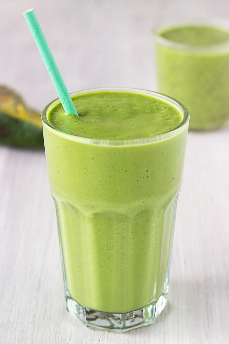 Green Goddess Smoothie and Green Chia Pot