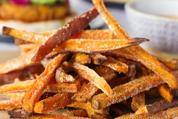 Crispy Oven-Baked Sweet Potato Fries
