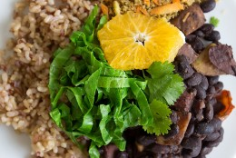 Brazilian Vegan Feijoada (Black Bean Stew)
